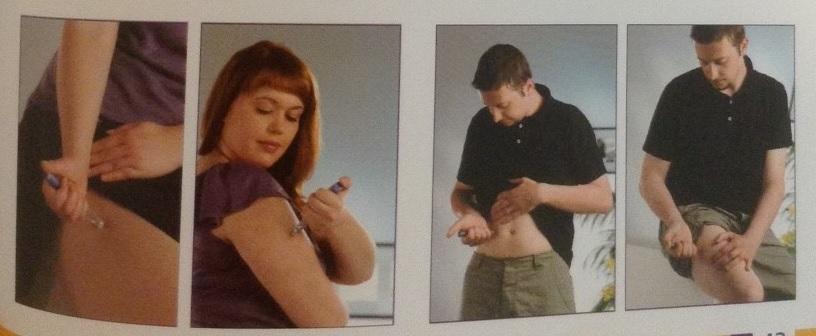 İnsülin Tedavisinde Enjeksiyon Yöntemi Hakkında Bölüm 11