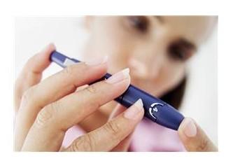 Şeker hastalığında diyetin etkisini kan düzeyinde hemen görürüz. Diyet diyabette temel tedavidir