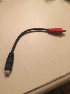 USB OTG kablosu 1