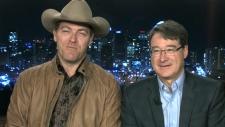 Kanadalı Şarkısı George Canyon ve JDRF Kanada Başkanı