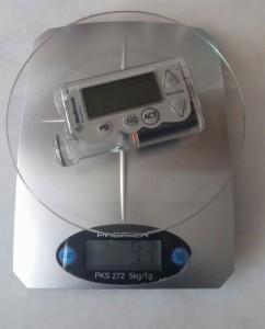 insülin pompası ağırlık