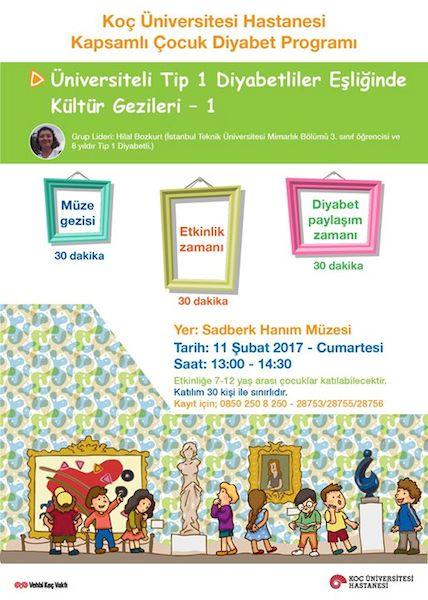 Tip-1 Diyabetli Üniversite Öğrencileri Liderliği'nde Kültür Gezileri