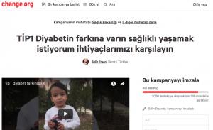 change.org diyabet